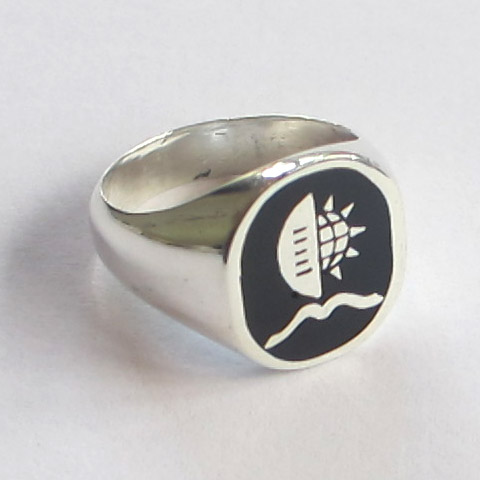 UKZN signet ring – Ladies sterling silver
